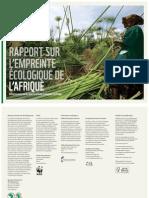 Rapport sur l'Empreinte Ecologique de l'Afrique - Infrastructures vertes pour la sécurité écologique en Afrique (AfDB, WWF - 2012)