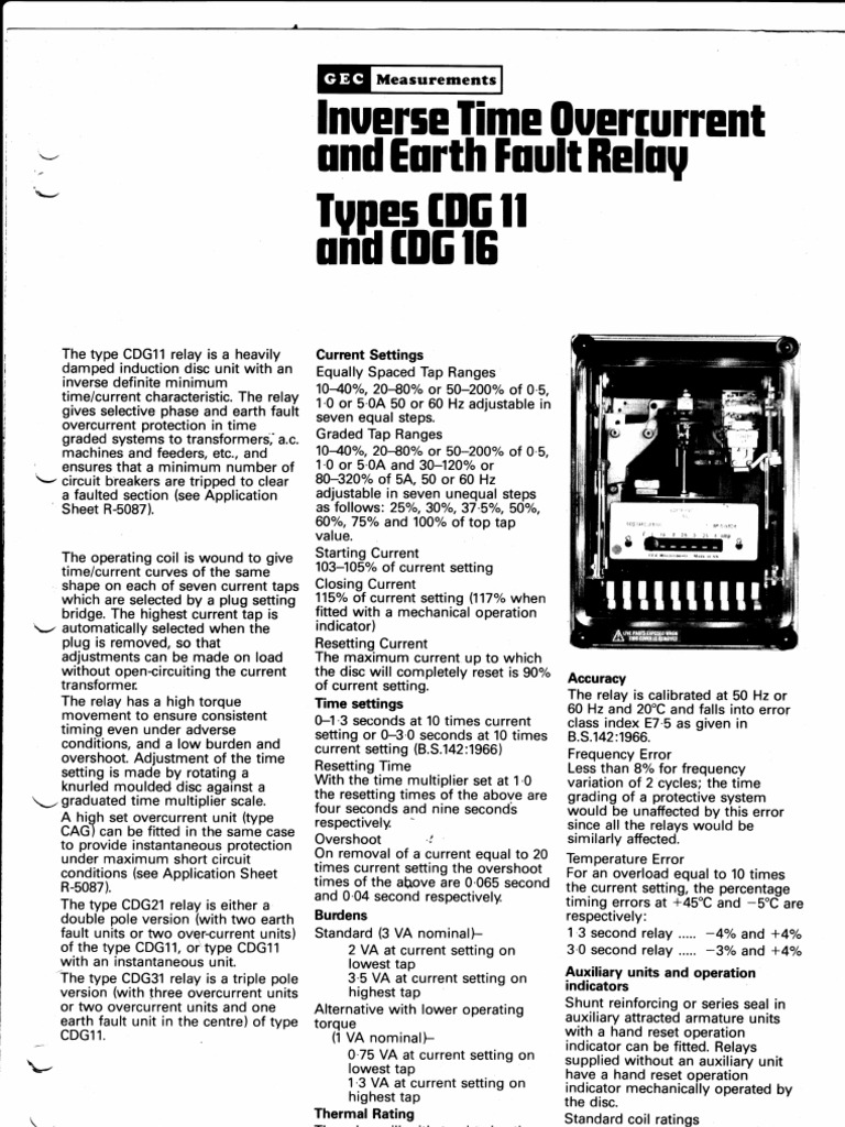 cdg 11 relay catalogue relay alternating current rh scribd com 8 Pin Relay Wiring Diagram Starter Relay Wiring Diagram
