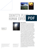 Identity, Place and Human Experience