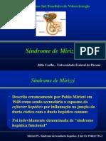 SindromeMirizziDrJulioCoelho -ncalculo dentro da vesicula pressiona ducto hepático