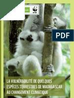 La Vulnérabilité de Quelques Espèces Terrestres de Madagascar au Changement Climatique (NORAD, WWF – 2011)