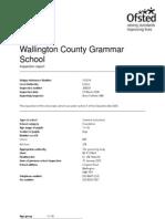 Wallington Grammar School