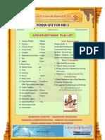 aksharabhyasam puja list for nri