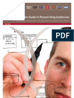Guide to Audieience Research Methodology