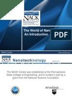 Introduction to Nanotechnololgy