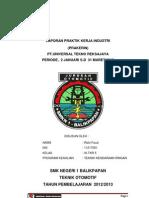 contoh laporan akhir UTR