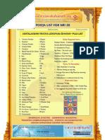 ashtalakshmi udyapana and homam puja list for nri