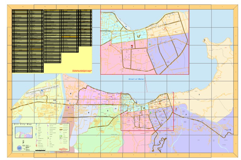 Dili Street Map Business Business
