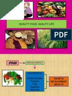 Quality Food Quality Life