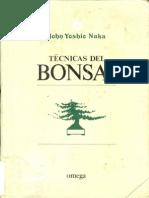Técnicas del BONSAI de john yoshio naka