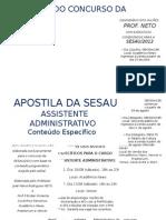 Apostila de Direito Assistente Administrativo (Especifica)