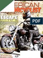 American Motorcyclist Aug 2005