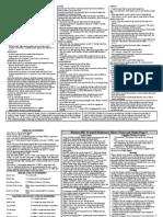 Hordes MK II QRS v 1.0 Page 2-1 and 2-2