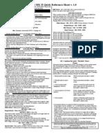 Hordes MK II QRS v 1.0 Page 1-1 and 1-2