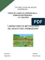 PROGETTO LAB. METODOLOGIA DEL GIOCO E DELL'ANIMAZIONE.doc