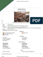 Batalla de Boyacá - Wikipedia, la enciclopedia libre