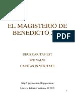 Benedicto Xvi - El Magisterio de Benedicto Xvi - Enciclicas