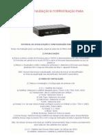 Tutorial Atualiza e Configura AZAMERICA S1001