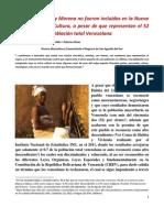 La Cultura Negra y Morena no fueron incluidas en la Nueva Ley Orgánica de Cultura IIIIIIIIIIIII