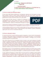 Carla Fabiani, Sintesi Della Dialettica Dell'Illuminismo Di Adorno e Horkheimer