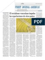 El socialismo venezolano impulsa las exportaciones de otros países