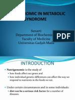 Nutrigenomik in Metabolic Syndrome.2010