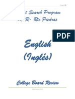 Repaso College Board- Ingles