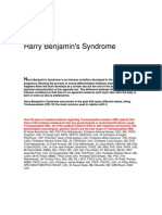 Harry Benjamin Syndrome 2007 Booklet