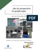 Rapport Geophysique Appliquee