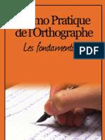 Memo Pratique de l'Orthographe