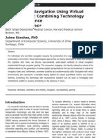 Audio-Based Navigation Using Virtual Environments-Combining Technology and Neuroscience