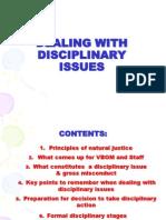 SLIDE 1 Disciplinary Procedures