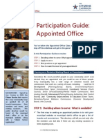 Appointed Office Participation Guide