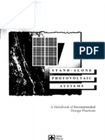 Stand-Alone Photovoltaic Systems