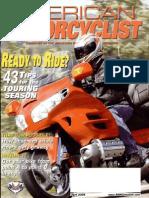 American Motorcyclist Apr 2005