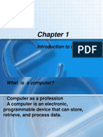 Chapter 1 - What is a Computer (1)