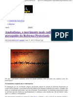 Anabatismo, o movimento mais radical e mais perseguido da Reforma Protestante _ Portal da Teologia.pdf