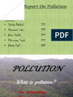 Pollution for fy bms