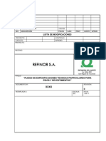 11.Especificación técnica Pisos y revestimientos