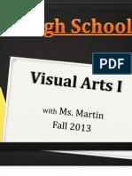 Visual Arts I