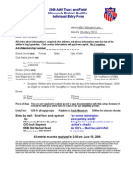 aau entry form