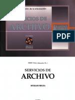 Servicios de Archivo-Myriam Mejias