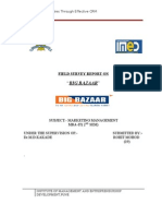 Crm on Big Bazaar