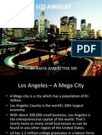 Geography Alevel Los Angeles - A megacity