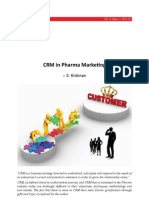 CRM in Pharma Marketing