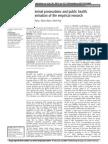 O'Byrne P et al. HIV criminal prosecutions and public health