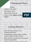 Behavior Theory