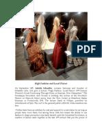 High Fashion and Local Flavor The Piscataqua Decorative Arts Society Lecture Series