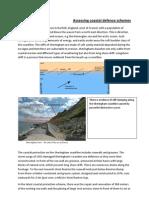 Assessing Coastal Defence Schemes