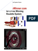 Worlds Best Roulette System Scam